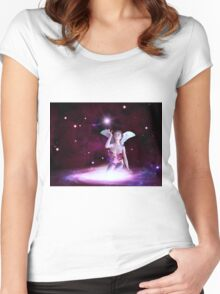 Space fairy 3 Women's Fitted Scoop T-Shirt