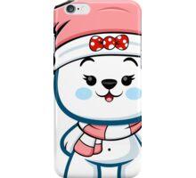 Polar Bear Girl - Christmas Kawaii iPhone Case/Skin