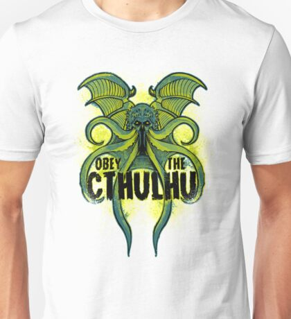 Obey-The-Cthulhu-16 Unisex T-Shirt