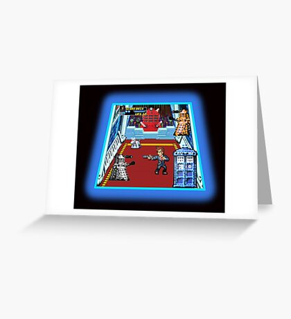 Doctor Who: The Arcade Game Greeting Card