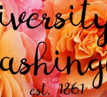 University of Washington Rose Sticker