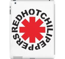 RHCP DUVET RED BLACK iPad Case/Skin