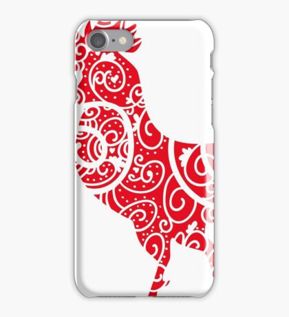 Happy Chineese New Year 2017 -  Year of Rooster iPhone Case/Skin