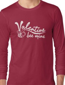 Valentine's Day, Bee Mine Long Sleeve T-Shirt