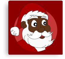 Santa Claus cartoon Canvas Print