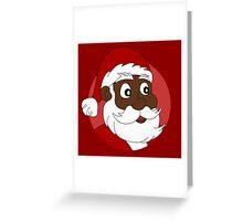 Santa Claus cartoon Greeting Card