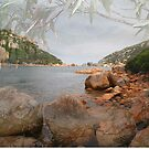 Waychinicup Rivermouth & Reflection by Leonie Mac Lean