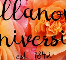 Villanova University Rose Sticker