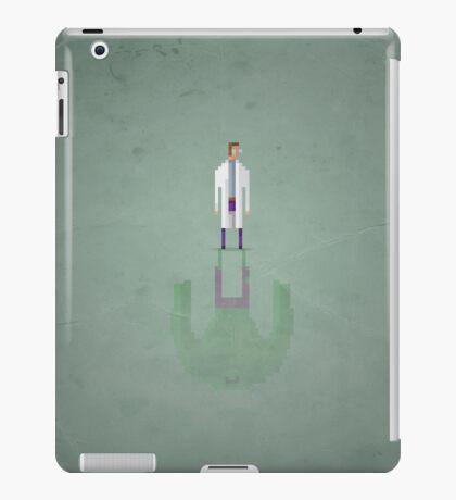 8-bit Green Bulk iPad Case/Skin
