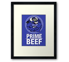 Prime BEEF Framed Print