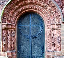Watts Chapel - Door by John Thurgood