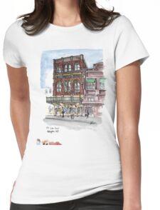134 Cuba street Wellington New Zealand Womens Fitted T-Shirt