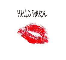 Hello Sweetie Kiss Kiss by nonny
