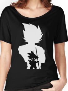 Goku and Kid Goku Women's Relaxed Fit T-Shirt