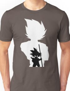 Goku and Kid Goku Unisex T-Shirt