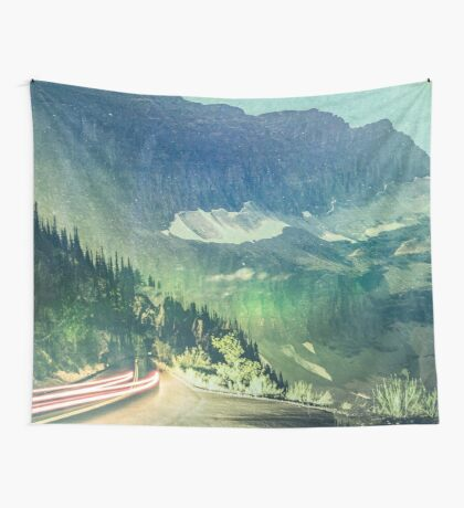 Mountains - Wanderlust Wall Tapestry