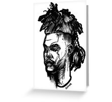 A Mohawk for The Weekend Greeting Card