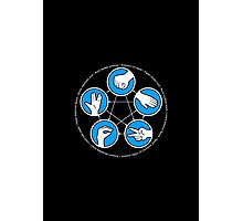 Rock, Paper, Scissors, Lizard, Spock Photographic Print