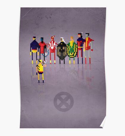 8-bit Y-Men 2.0 Poster