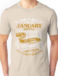 I'm A January Woman Unisex T-Shirt