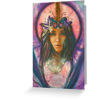 Butterfly Angel Belle Greeting Card