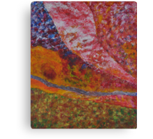 036 Abstract Thought Canvas Print