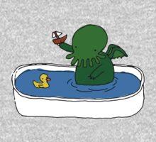 Bathtime for Cute-thulhu Kids Clothes
