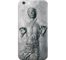 Han Solo in Carbonite iPhone Case/Skin