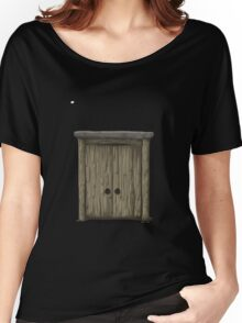 Glitch Furniture bag cabinet heights 3 3 Women's Relaxed Fit T-Shirt