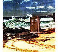 tardis on the waterfront Photographic Print