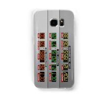 DeLorean Dashboard Samsung Galaxy Case/Skin