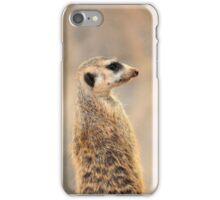 Meerkat (Suricata suricatta ) iPhone Case/Skin