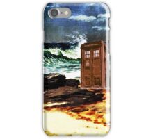 tardis on the waterfront iPhone Case/Skin