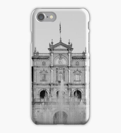 Facade of Plaza de Espana - Seville iPhone Case/Skin