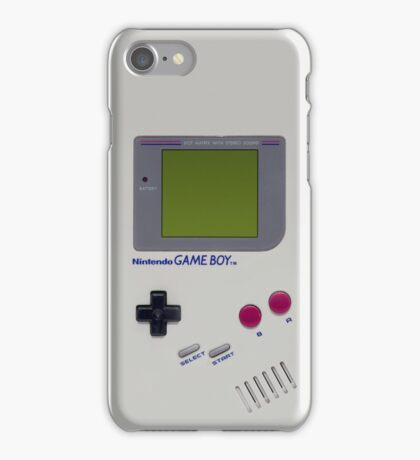 It's Only A Game Boy iPhone Case/Skin