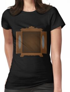 Glitch Furniture bag cabinet nice 4 4 Womens Fitted T-Shirt