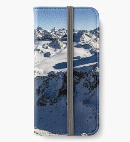 Mont Fort Panorama iPhone Wallet/Case/Skin