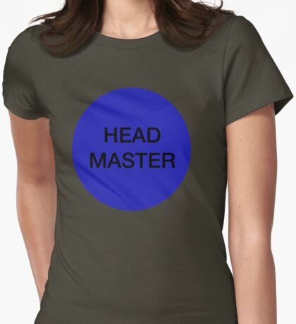 Head master Womens Fitted T-Shirt