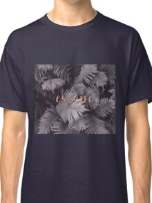 Rose gold escape in the shadows Classic T-Shirt