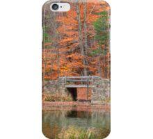 Stone Bridge in Autumn iPhone Case/Skin