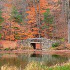 Stone Bridge in Autumn by KathleenRinker