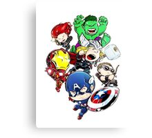 super hero Canvas Print
