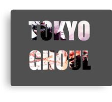 Tokyo Ghoul title style Canvas Print