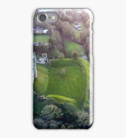 Framlingham Castle From Above iPhone Case/Skin