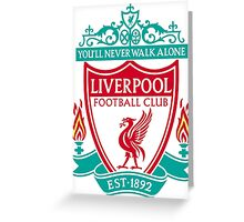 LIVERPOOL LOGO Greeting Card
