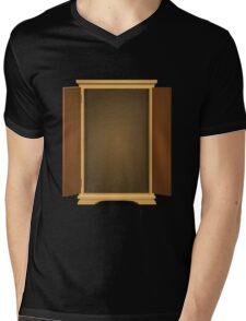 Glitch Furniture bag cabinet ok 3 4 Mens V-Neck T-Shirt
