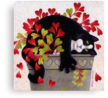 Love Pot Canvas Print
