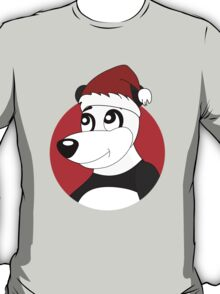 Cute Christmas panda bear cartoon T-Shirt