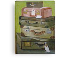 Voyage des Valises  Canvas Print
