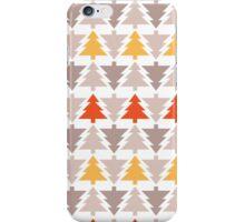 Western Christmas Trees iPhone Case/Skin